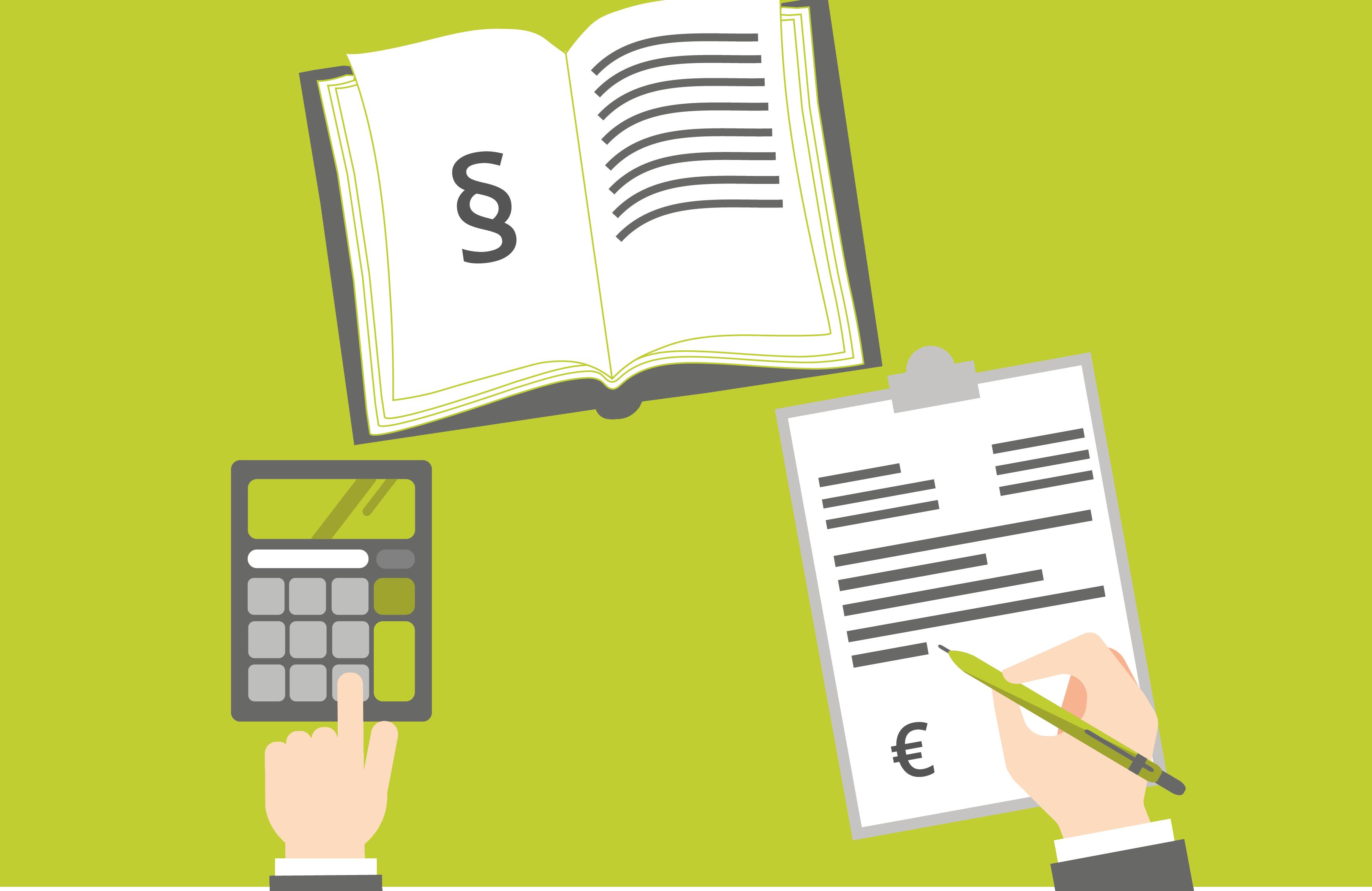 Rechnungserstellung Illustration