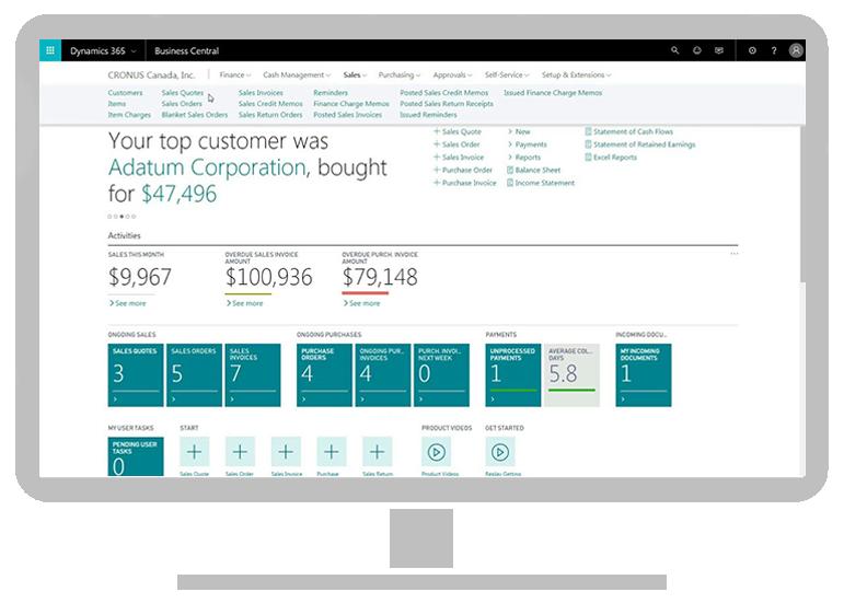 faveo 365 - Microsoft Dynamics Business Central