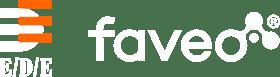 EDE faveo Logo negativ