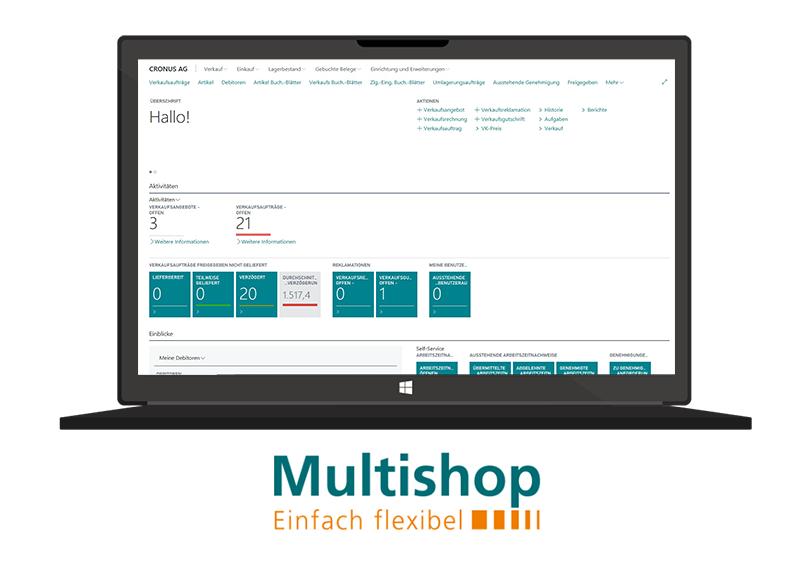 ERPcloud360+Multishop