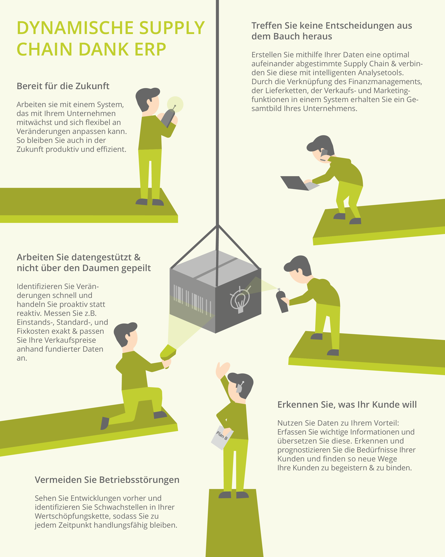 Infografik Supply Chain Artikel