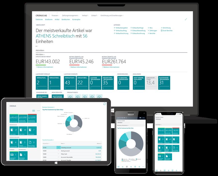 faveo 365- Cloud-ERP-fuer Haendler_Screens + Devices-1