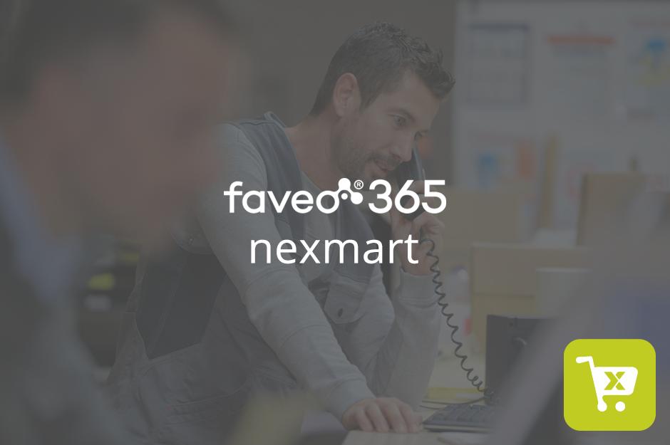 faveo 365 nexmart Anbindung
